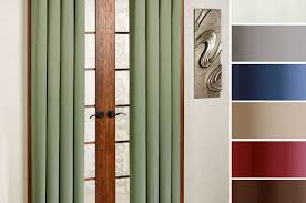 Blackout Window Curtains Curtains Soho Thermal Blackout Grommet Top Curtain Panels Single