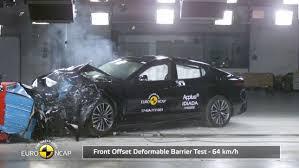 si e auto crash test kia stinger 2017 crashtest autobild de