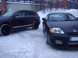 matte black hyundai tiburon on matte images tractor service and