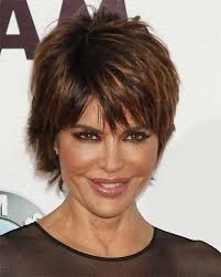 does lisa rinna have fine hair lisa rinna very short shag style and beauty tips pinterest