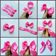 ribbon hair bow diy hair bows 12 patterns 4 steps with pictures