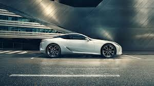 lexus sports car white lexus lc luxury performance coupé lexus uk