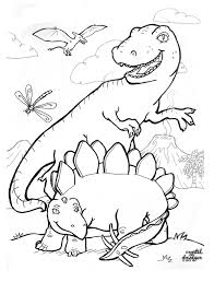 free dinosaur colouring crystal driedger child caregiver