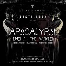 apocalypse end of the world halloween party tickets the
