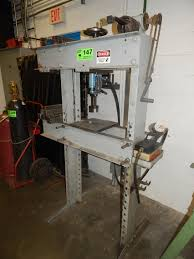 Otc Floor Crane by Otc 50 Ton Air Hydraulic H Frame Shop Press S N 9650