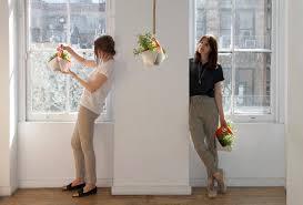 portable indoor hanging herb garden planter pots ideas