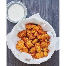 spicy cauliflower buffalo wings u2022 lisa the viet vegan