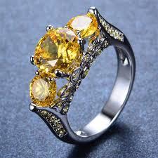 jewelry topaz rings images Yellow topaz ring december birthstone bamos jewelry JPG