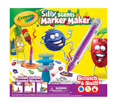 crayola silly scents marker maker creative art tool make your