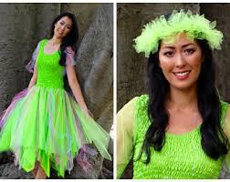 Green Fairy Halloween Costume Fairy Costume Etsy