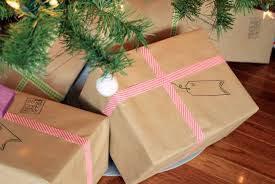 postal wrapping paper 18 diy wrapping paper ideas that are easy budget friendly and