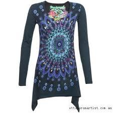 desigual tunics eloyse marine blouses u0026 tunics retro clothes