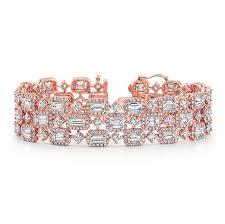 rose gold bracelet diamonds images Rose gold diamond bracelet jpg