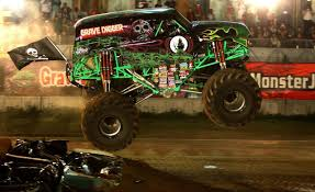 purple grave digger monster truck grave digger wallpapers wallpaper cave