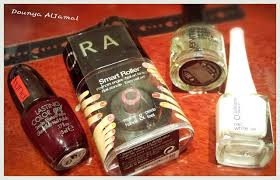dounya al jamal beauty nail art sephora smart roller review