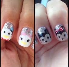 disney nail art minnie mouse mickey mouse daisy duck donald