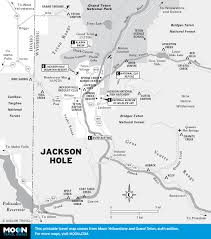 Wy Map Printable Travel Maps Of Wyoming Moon Travel Guides