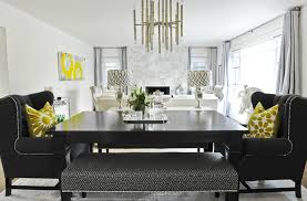 Maurice Chandelier Nailhead Dining Chairs Design Ideas