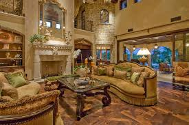 Tuscan Family Room Decorating Ideas Family Room Mediterranean With - Tuscan family room