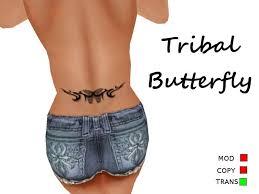 second marketplace taf 3 tribal butterfly v1 lower