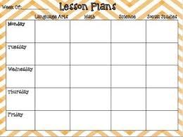 67 best lesson plans images on pinterest