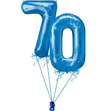 number balloons delivered 70th large birthday number balloons helium filled delivered