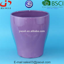 Flower Pot Sale Ceramic Purple Glazed Flower Pots Ceramic Purple Glazed Flower