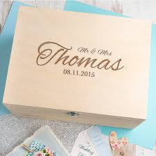 wedding photo box personalised wedding keepsake box by dust and things