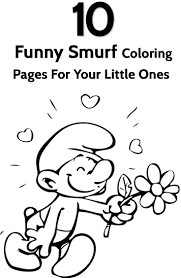 38 best coloring smurfs images on pinterest the smurfs drawings