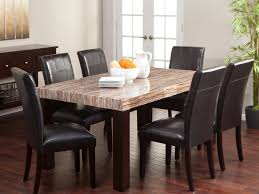 kitchen amazing glass table and chairs dining table chairs