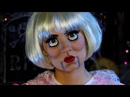 creepy doll costume creepy doll makeup tutorial
