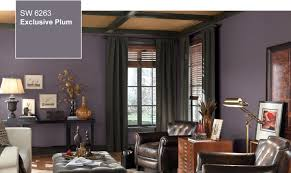 sherwin williams ash violet sw 6549 guest bed studio office and