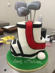 specialty d golf birthday cake u2013 divine cakes