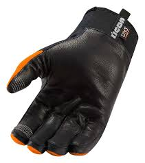motorcycle gloves icon wireform textile leather touchscreen motorcycle gloves black