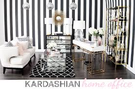 kardashian home office looks