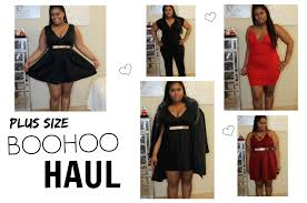 boohoo clothes boohoo plus size haul try on s day inspiration