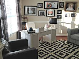 living room office combo home office contemporary with hidden
