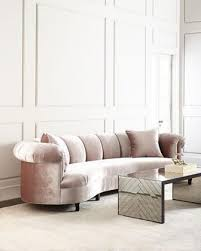 house audrey channel amethyst tufted sofa