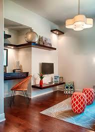 creative home office ideas dark wood floating wall shelves myohomes