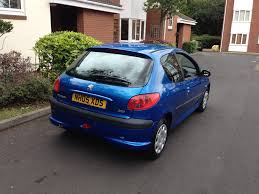 peugeot automatic used cars peugeot 206 2005 for 1 195 00 uk cheap used cars