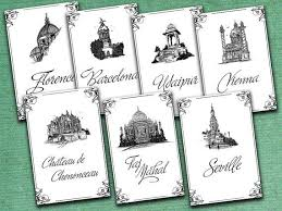 themed table numbers 10 best wedding table numbers images on marriage
