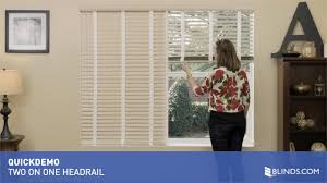 2 on 1 headrail for aluminum blinds quickdemo u0026raquo