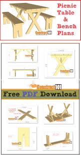 Free Hexagon Picnic Table Plans Pdf by 13 Best Picnic Table Plans Images On Pinterest Picnic Table