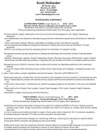exle cv resume strategic sourcing resume resume sle