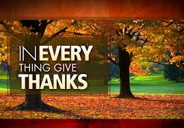 the sacrifice of thanksgiving contemplations