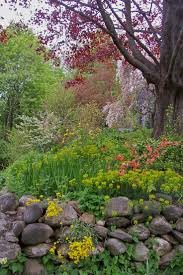 57 best rock wall gardens images on pinterest stone walls