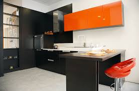 Red And Black Kitchen Cabinets by Beautiful Black Kitchen Cabinets Design Ideas Designing Idea