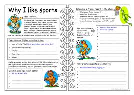 601 free esl sports worksheets