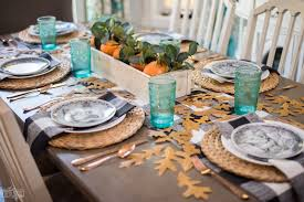 cozy thanksgiving table setting the diy