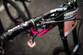 hellcat bicycle tracey hannah u0027s polygon dh9 2017 lourdes world cup pit bits